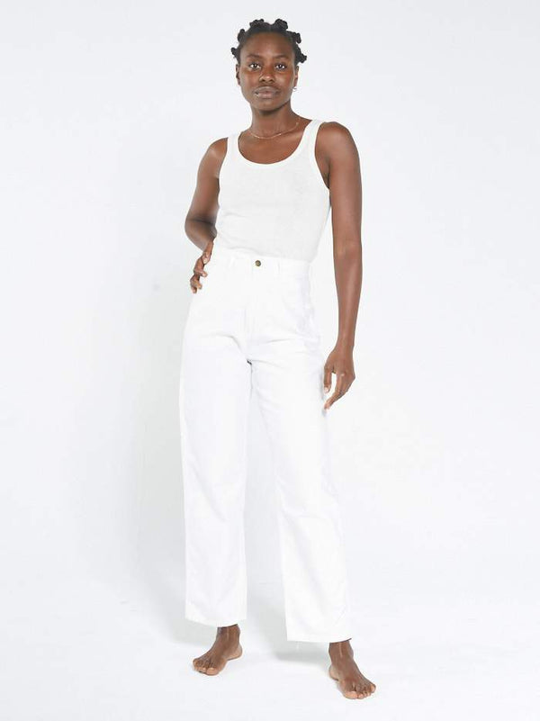 Carpenter Pant - White