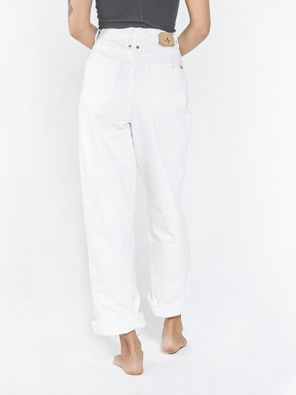 Billie Baggy Jean - Optic White