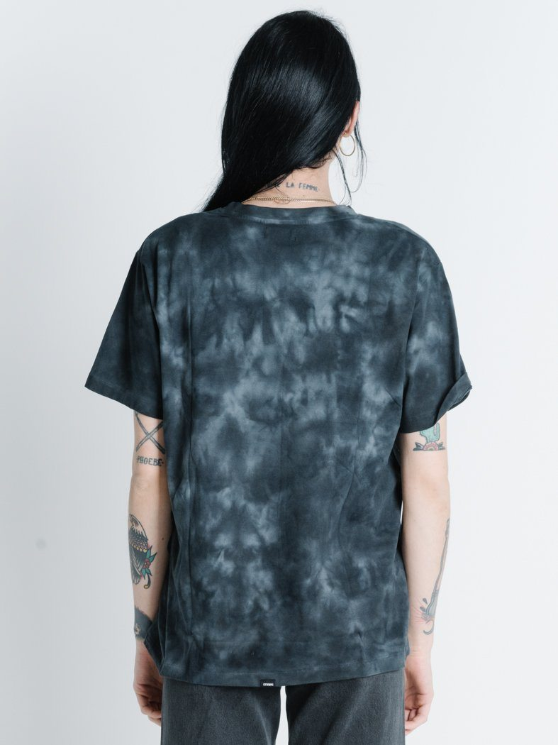 Wingspan Merch Tee - Oilspill Black Tie Dye