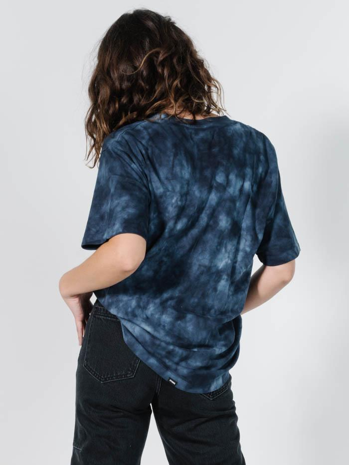 Eagle Vs Merch Tee - Midnight Blue Tie Dye
