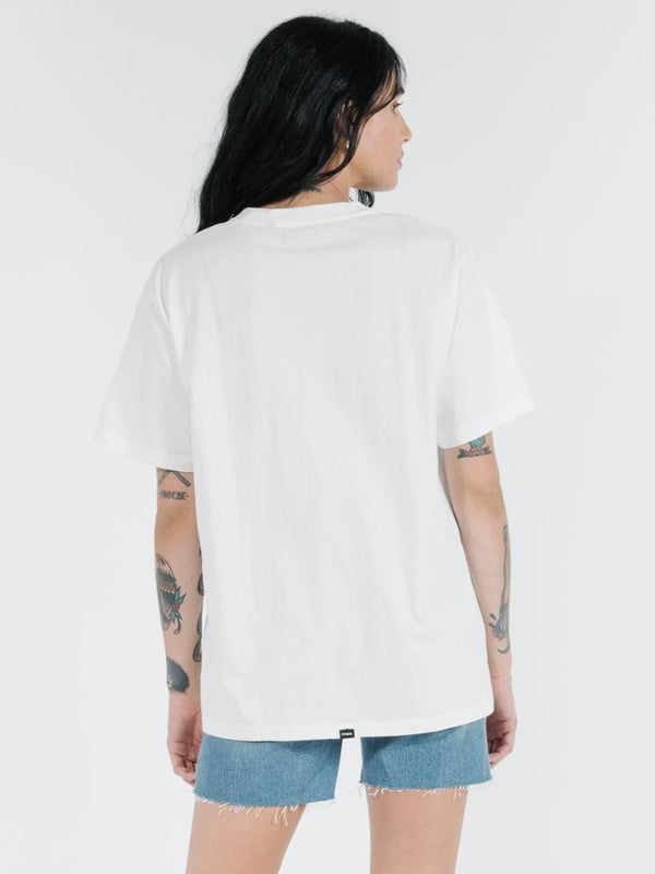Street Merch Tee - Dirty White