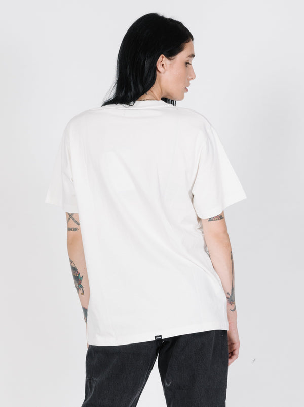 Eagle Vs Snake Merch Tee - Dirty White