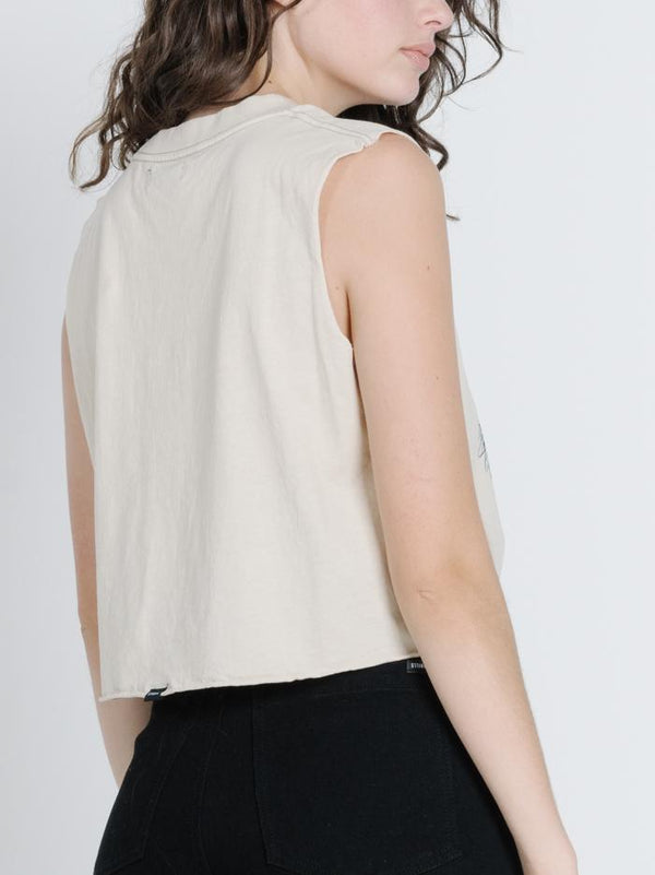 Prosper Crop Muscle - Thrift White