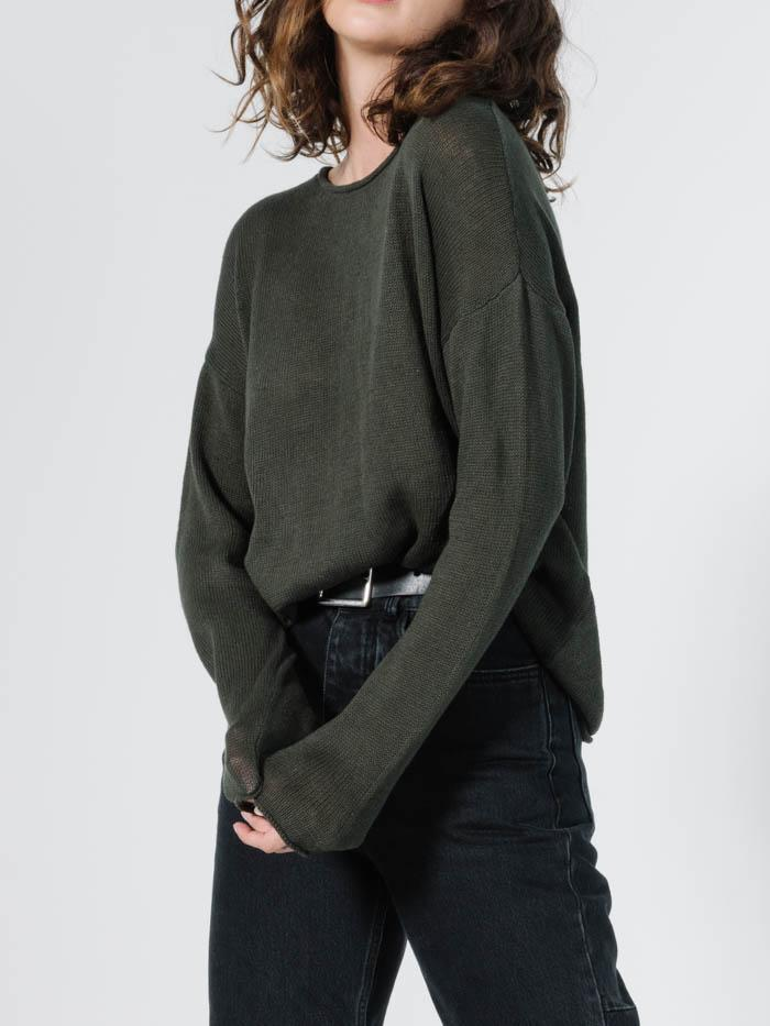 Fairbanks Knit - Dark Olive