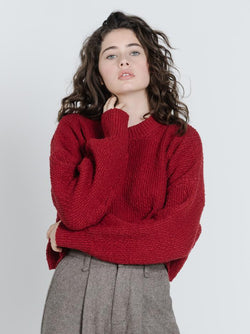 Skye Knit - Ruby Red