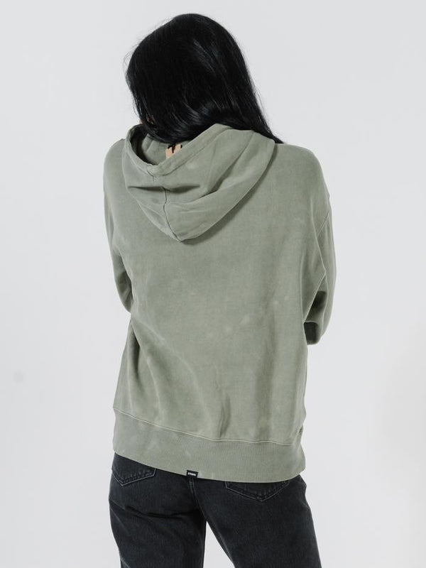 Hot Lips Hoodie - Army Green
