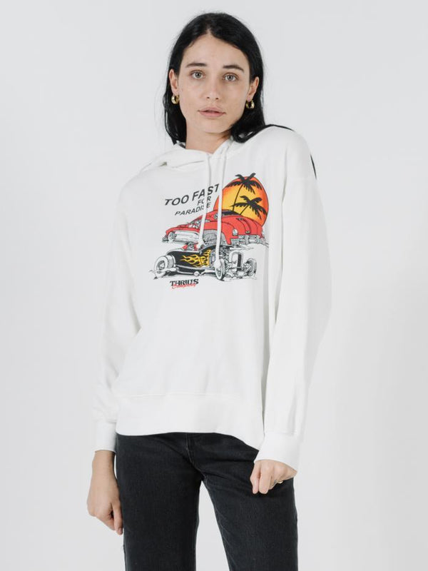 Too Fast Hoodie - Dirty White