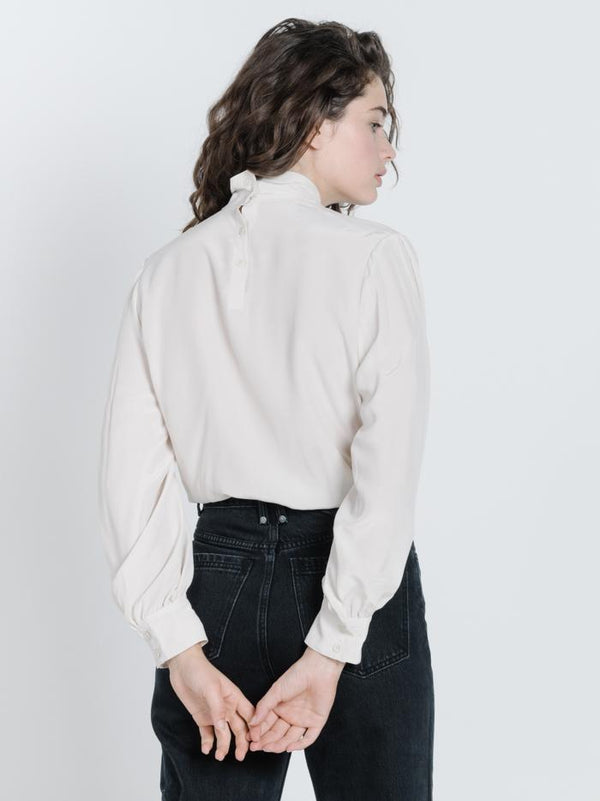 Serena Blouse - Dirty White