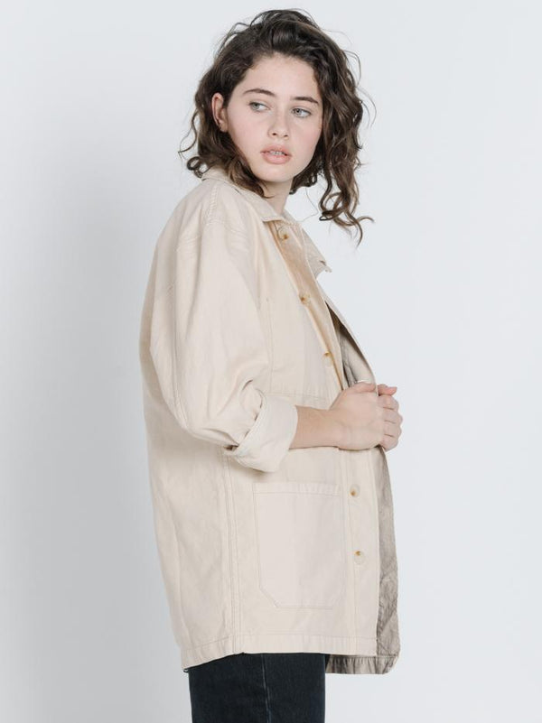 Work Jacket - Thrift White