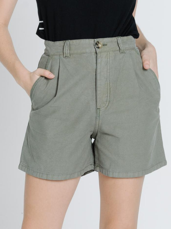 Mash Short - Army Green
