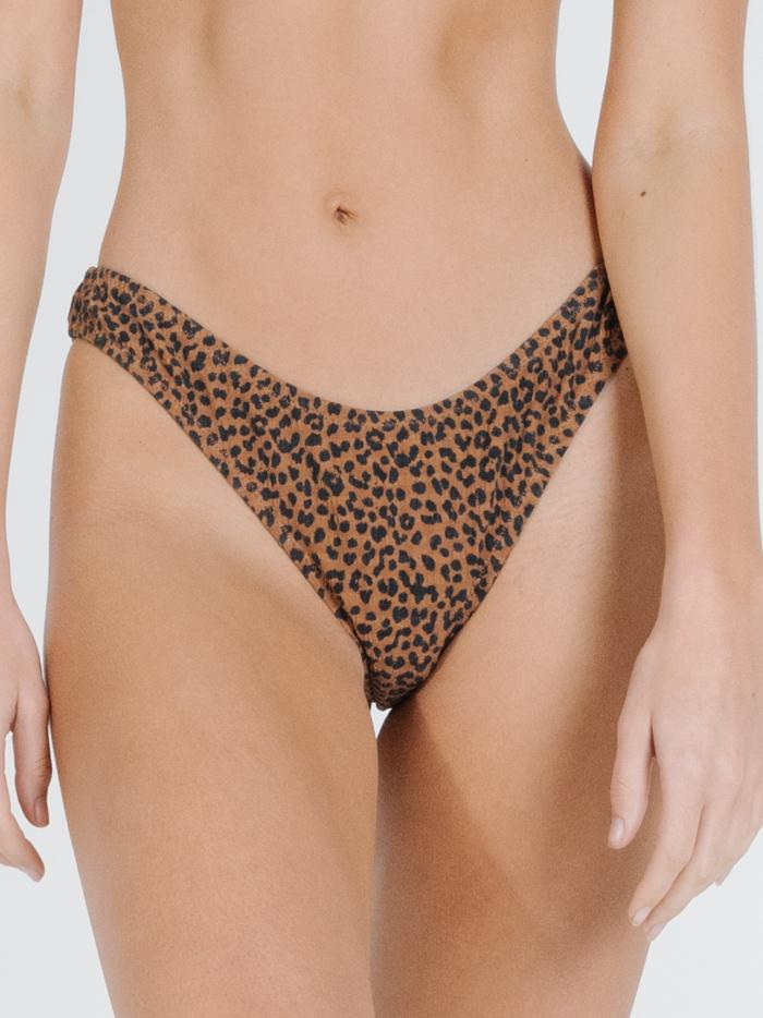 Panthera Bikini Bottom - Mustang Brown