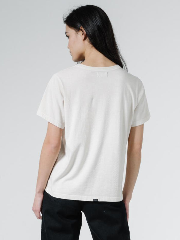 Ops Relax Fit Tee - Heritage White