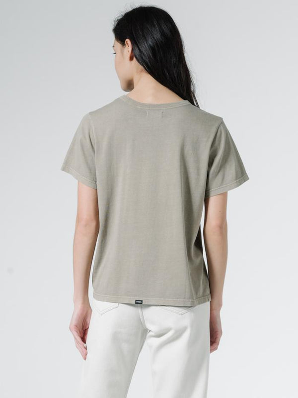 Ops Relax Fit Tee - Dusk Green