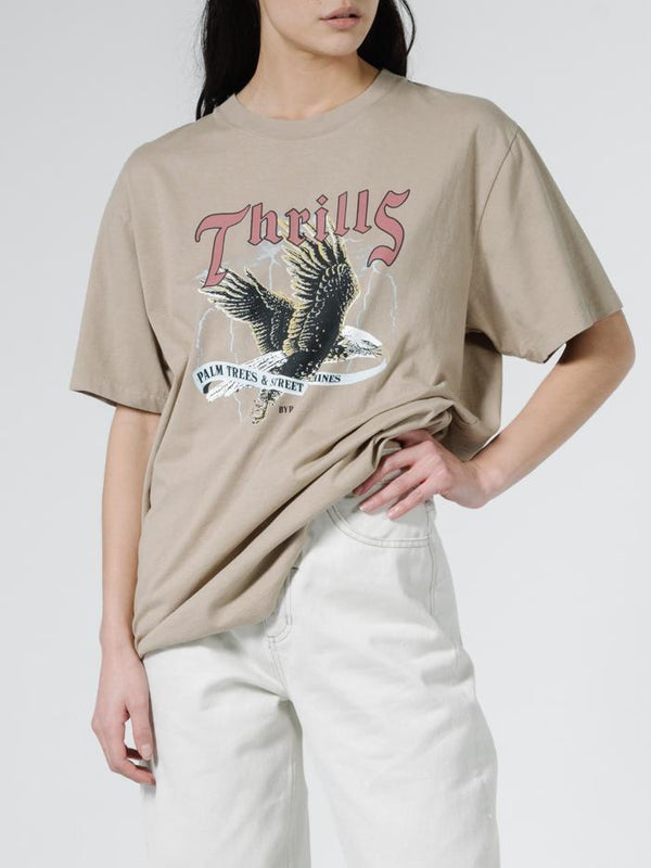 Storm The Castle Merch Fit Tee - Vintage Khaki