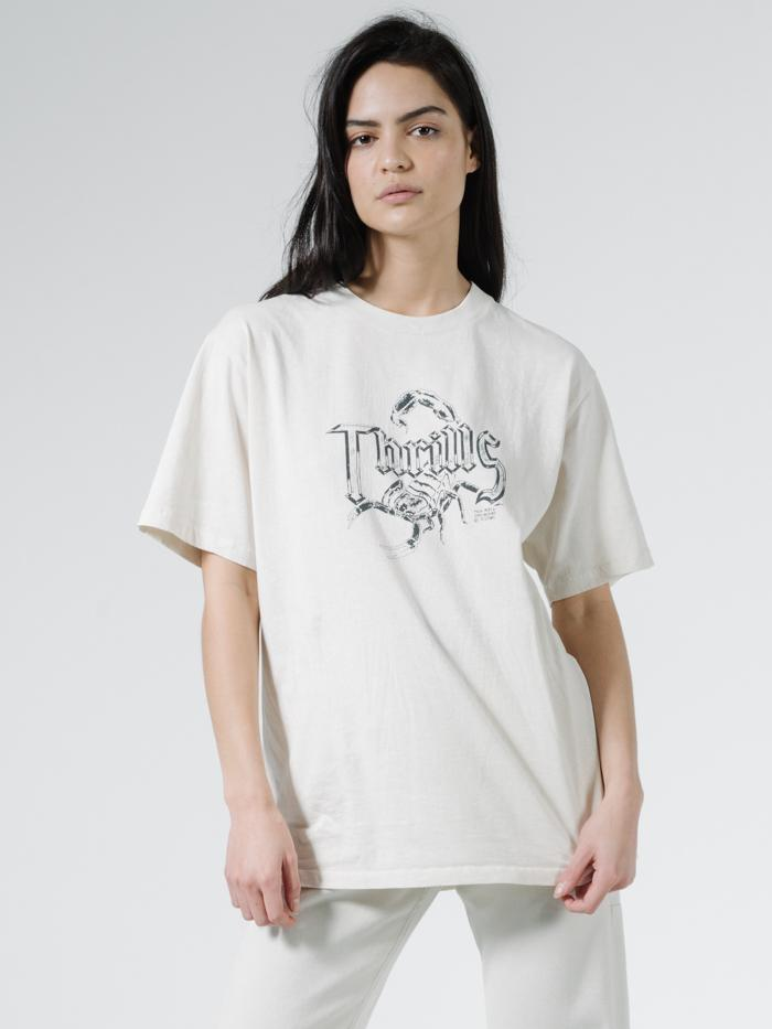Scorpion Island Merch Fit Tee - Heritage White