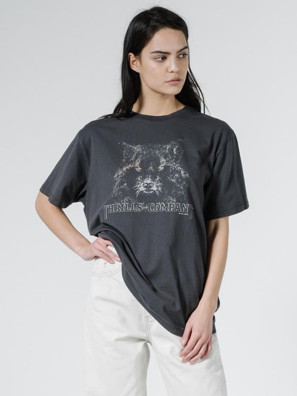 Shades of Wolf Band Fit Tee - Vintage Black