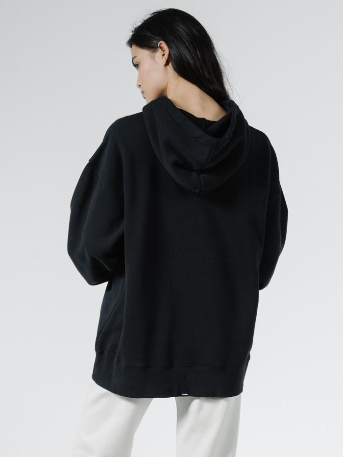 Established Oversized Hoodie - Black
