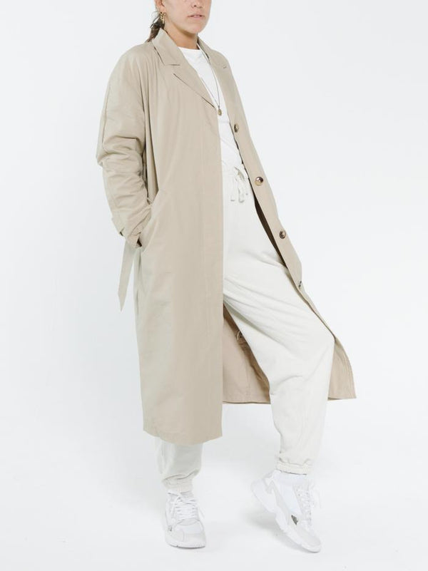 Harvey Trench Coat - Vintage Khaki