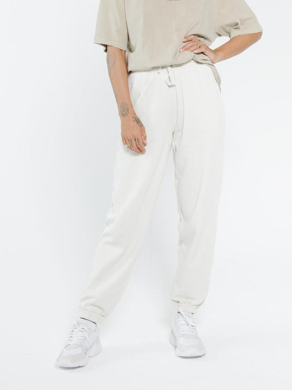 Established Track Pant - Heritage White