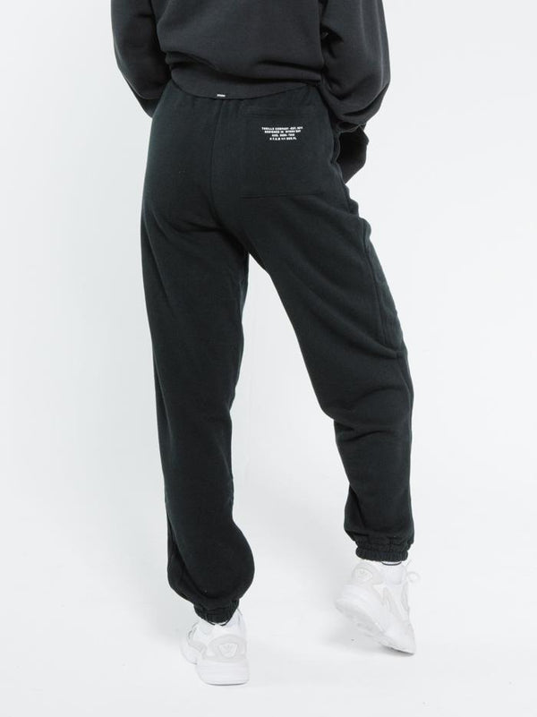 Established Track Pant - Black