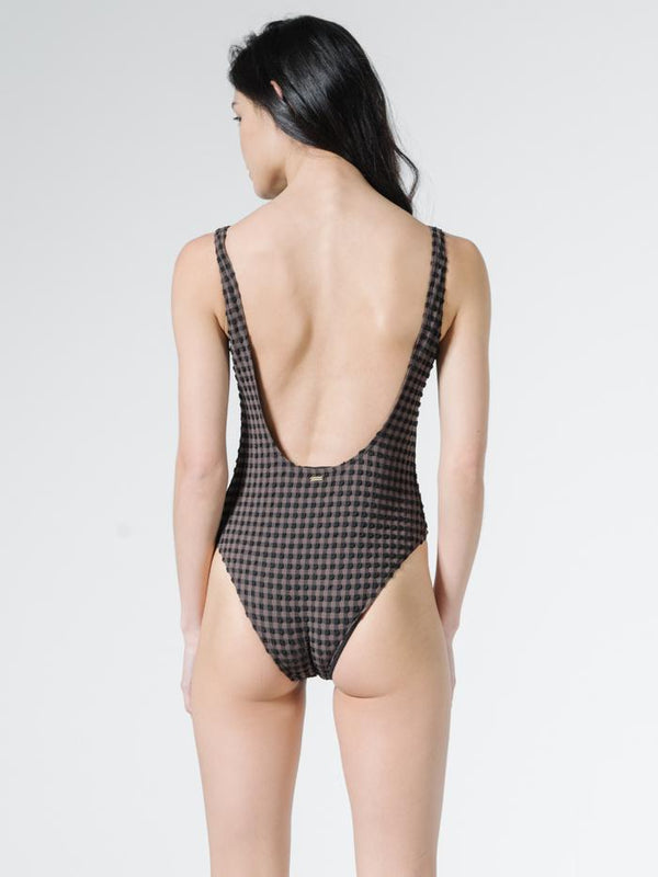 Georgie Plaid One Piece - Jarrah