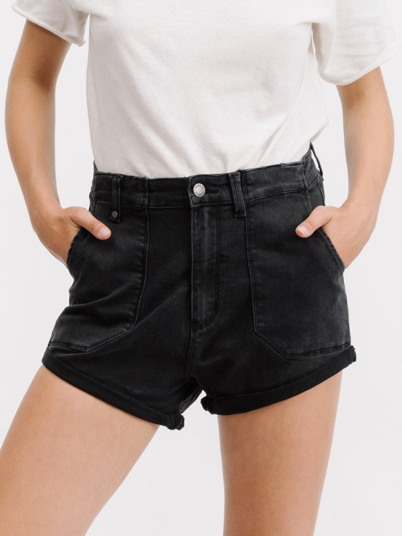 Army Rockers Short - Faded Black