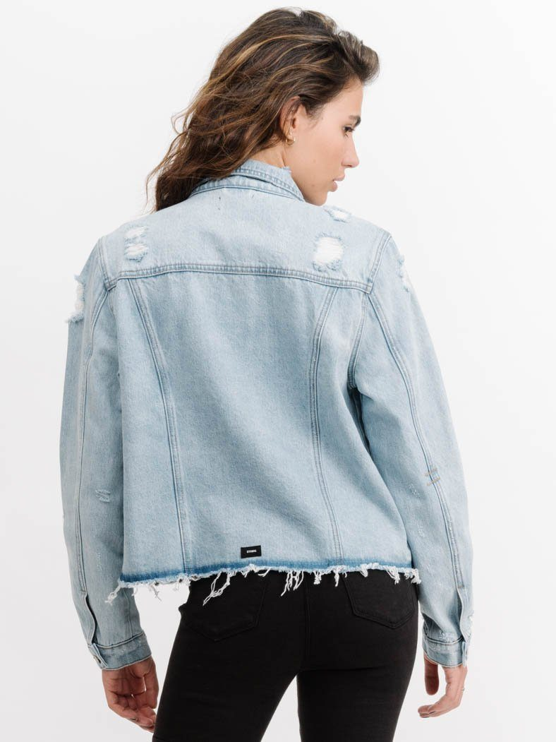 Mariah Jacket - Reckless Blue