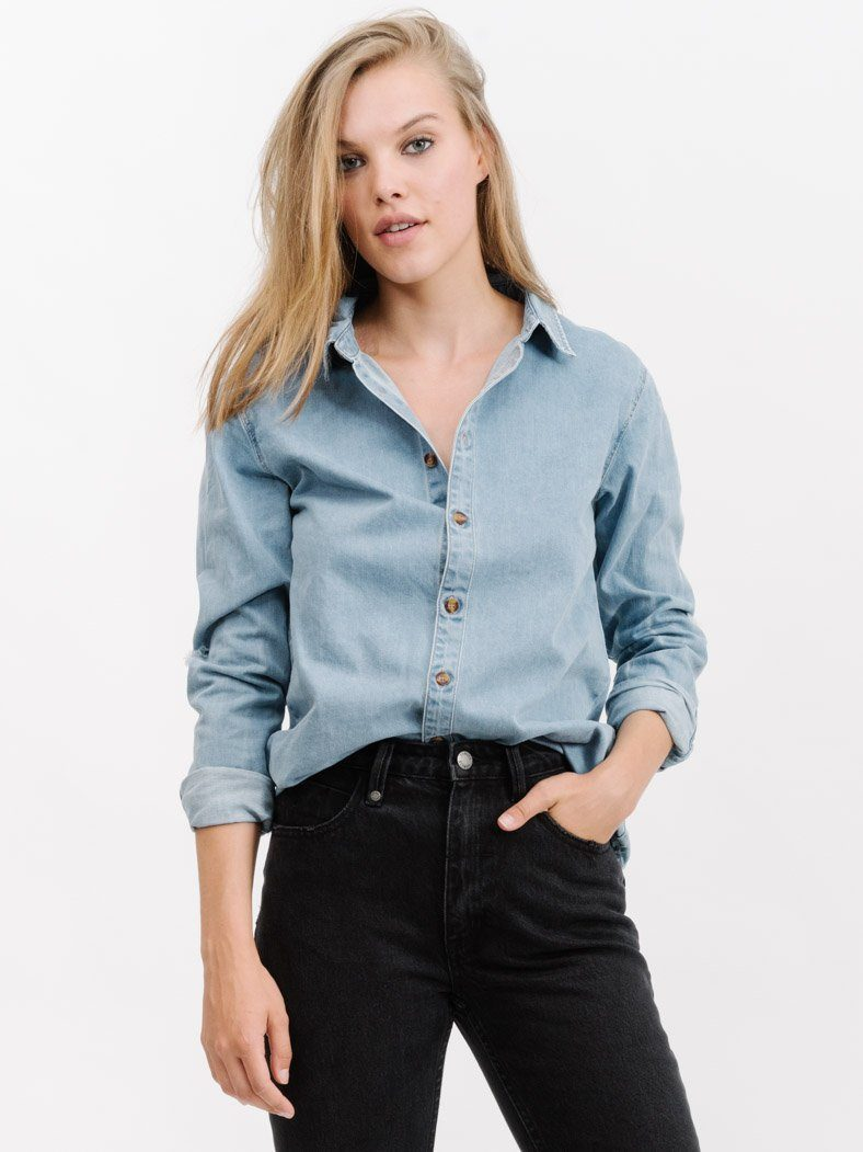 Destroy Canyon Shirt - Reckless Blue