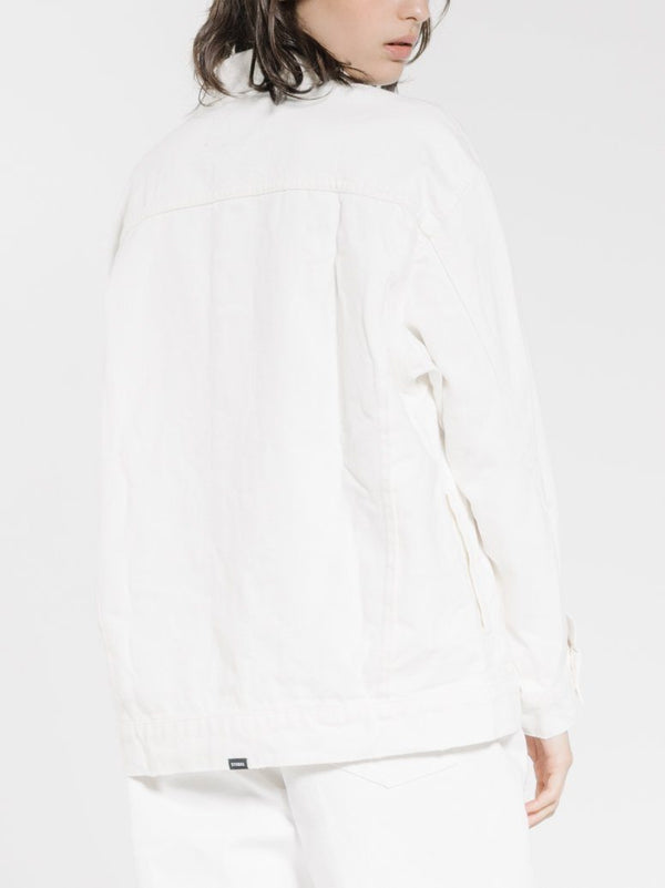 Madi Jacket - Optic White