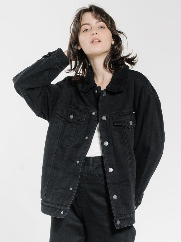 Madison Jacket - Black Rinse