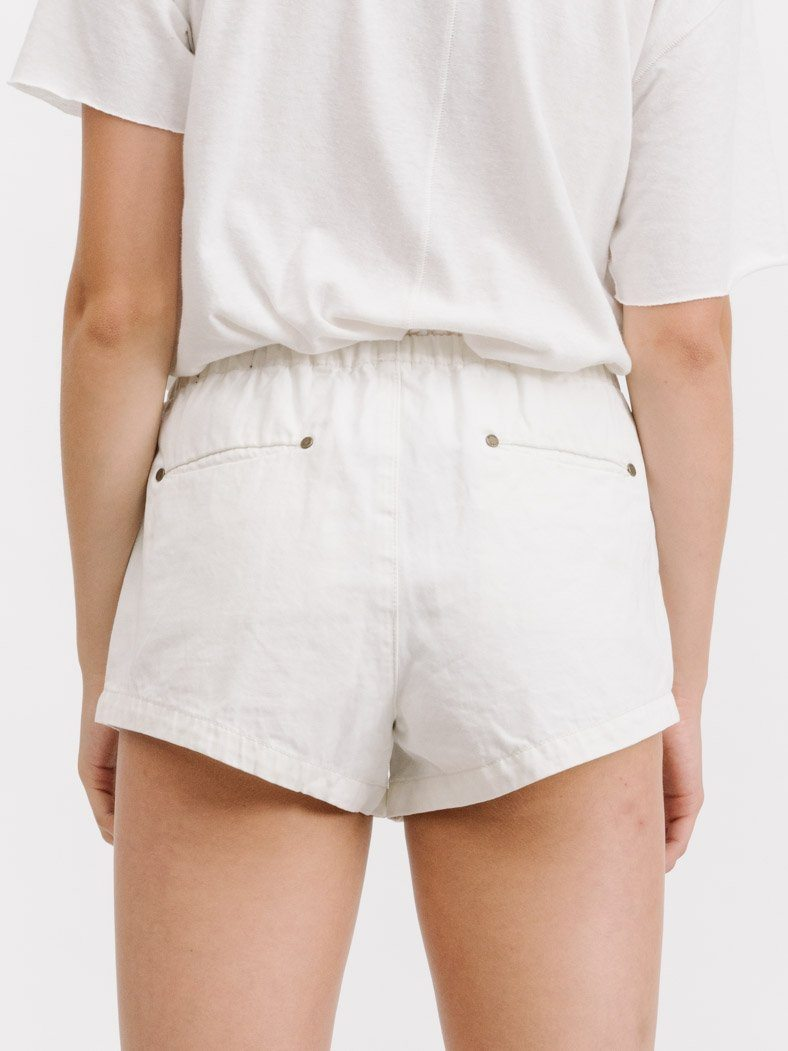 Runner Short - Bone White