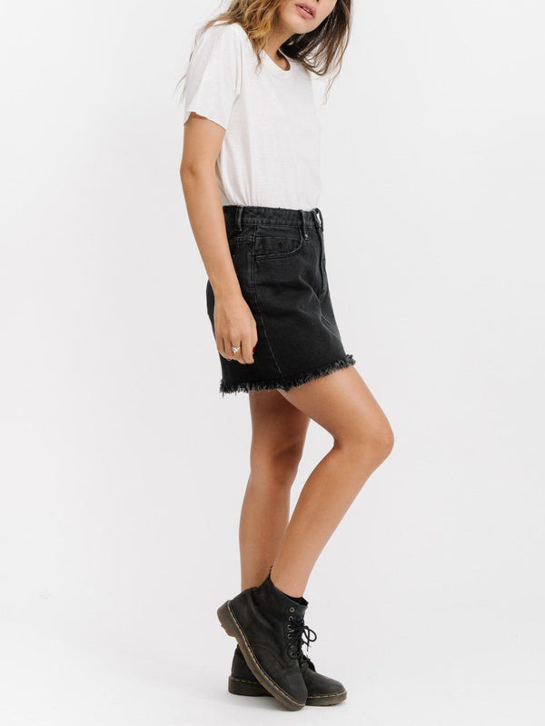 Stevie Skirt- Faded Black
