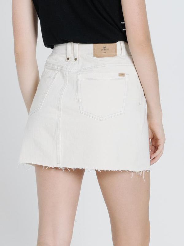 Leni Skirt - Shady White