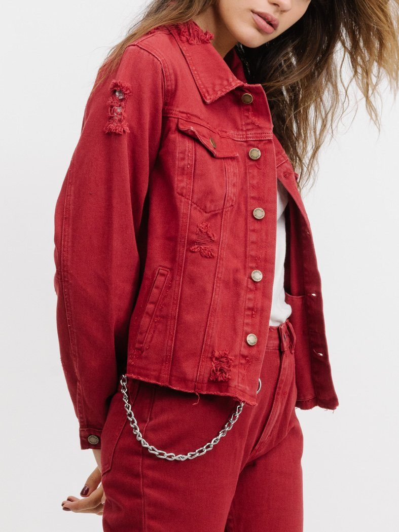 Mariah Jacket - Red