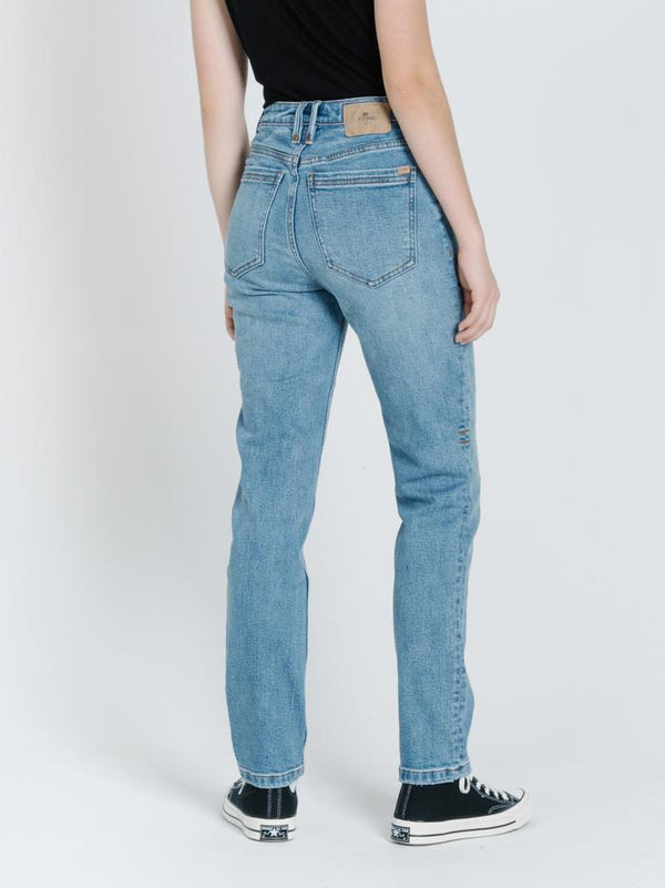 Thelma Stretch Jean - Trucker Blue