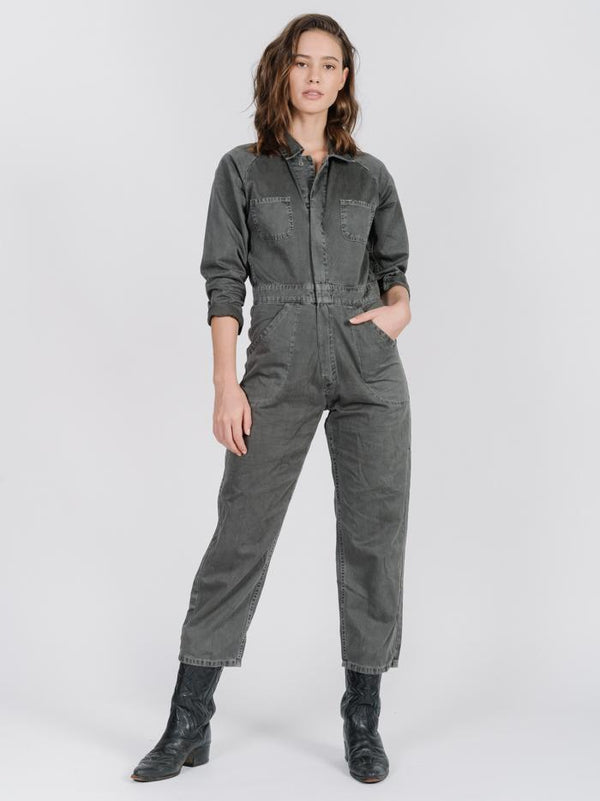 Tab Jumpsuit - Merch Black