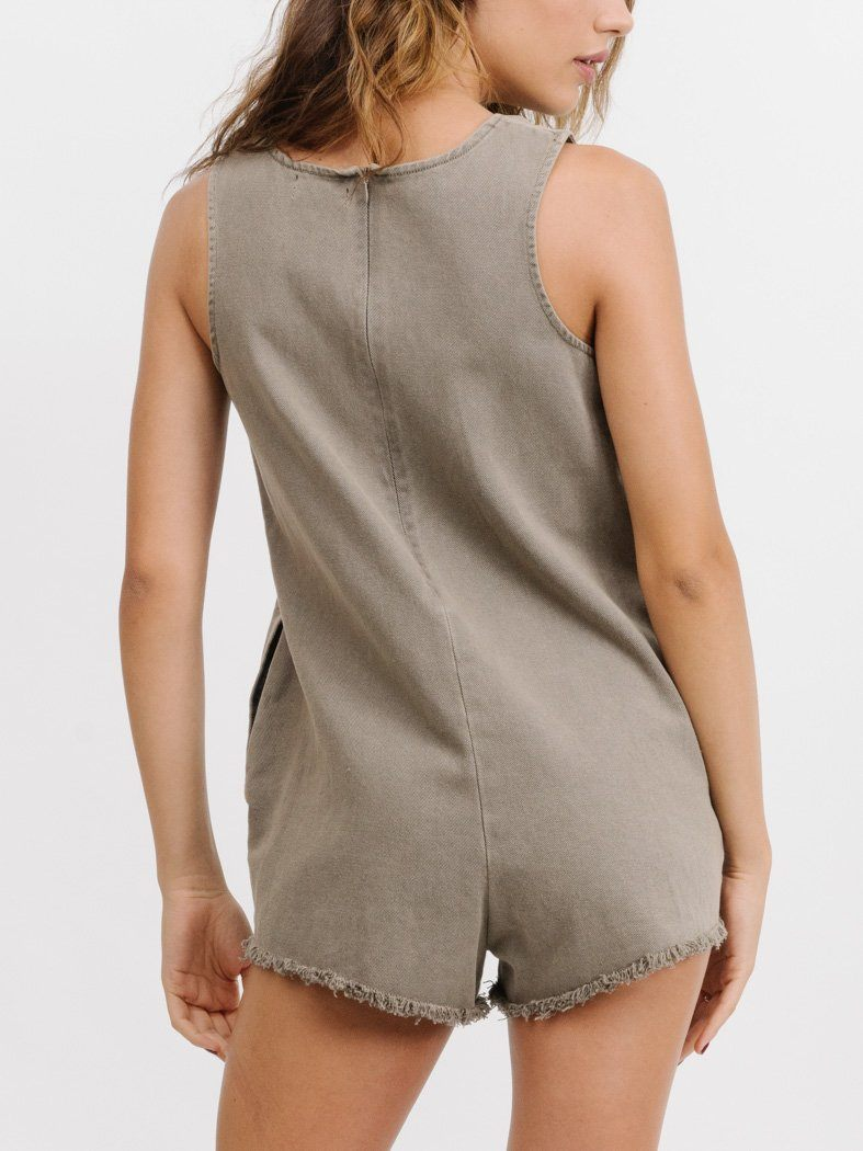 Laurel Playsuit - Dune
