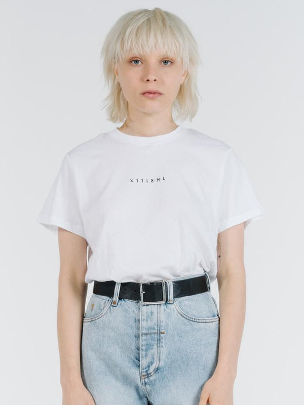 Minimal Thrills Relaxed Tee - White