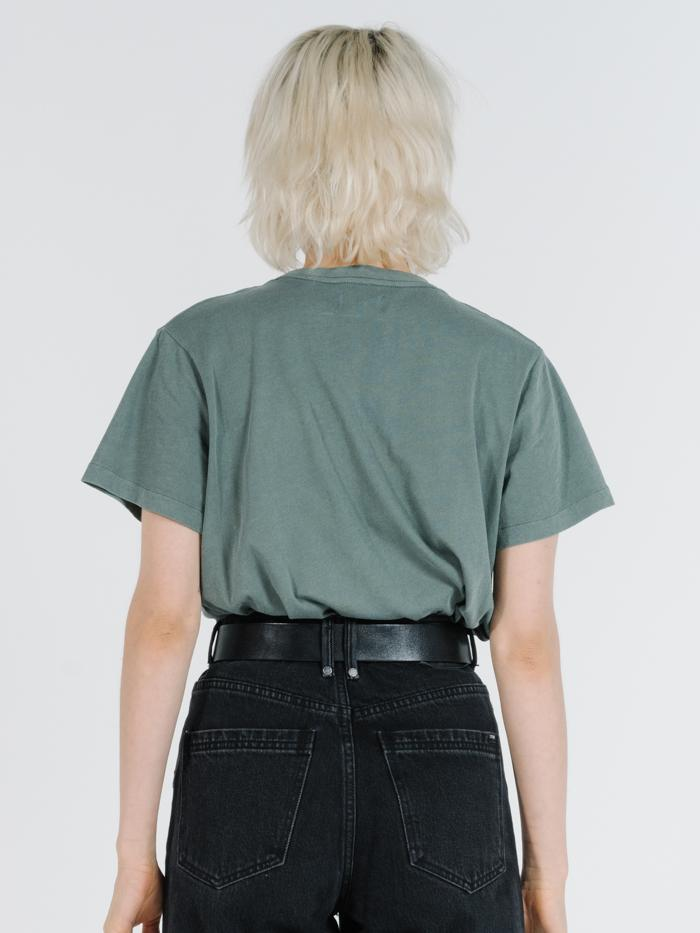 Minimal Thrills Relaxed Tee - Lume Green