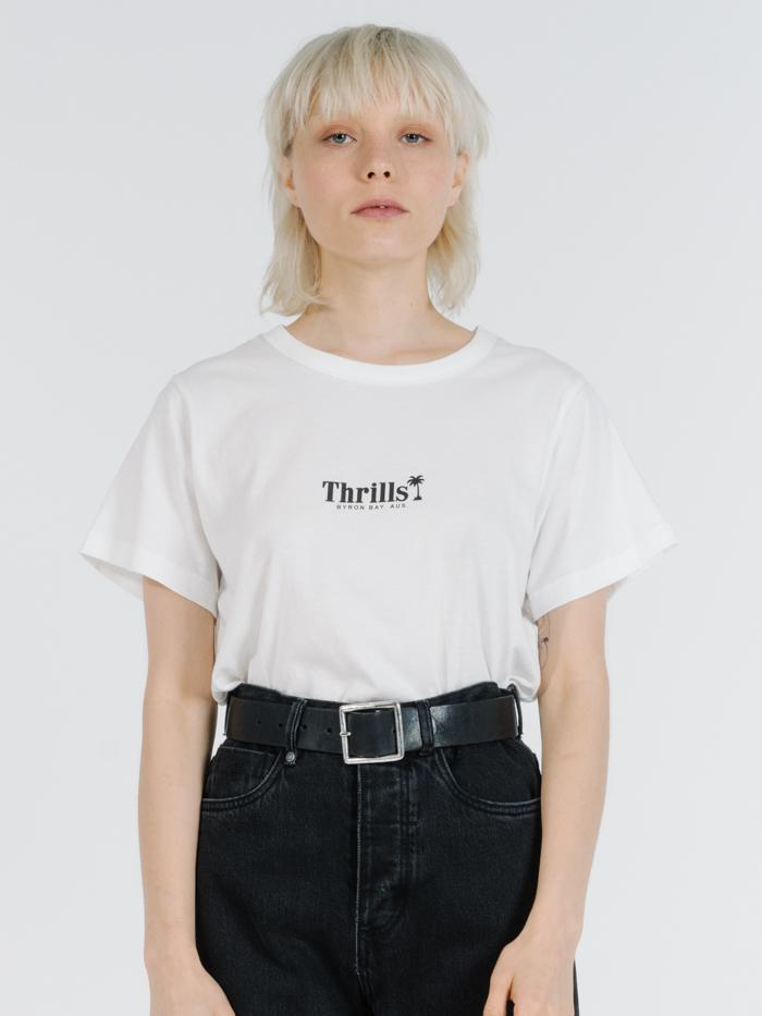 Palm Of Thrills Relaxed Tee - Dirty White