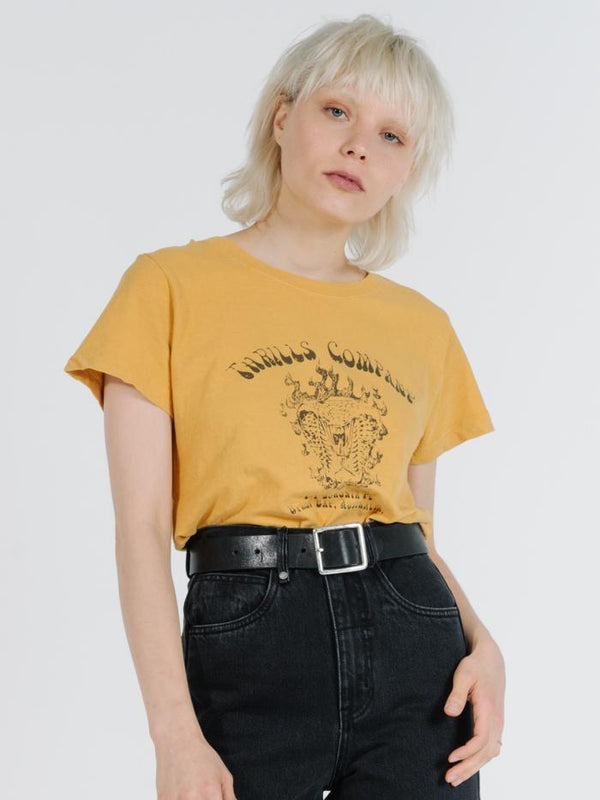 Soulfire Band Tee - Mineral Yellow