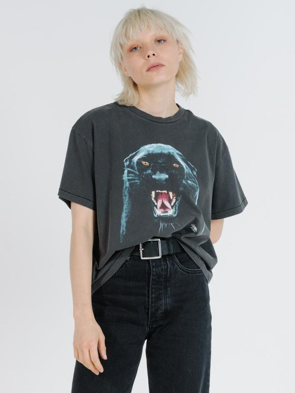 Prowler Oversized Box Tee - Merch Black