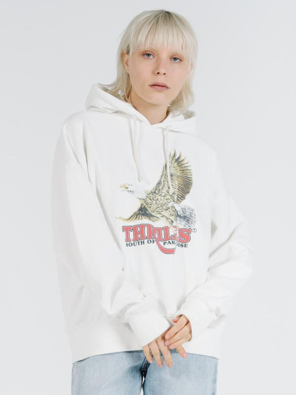 Victory Oversized Hoody - Dirty White