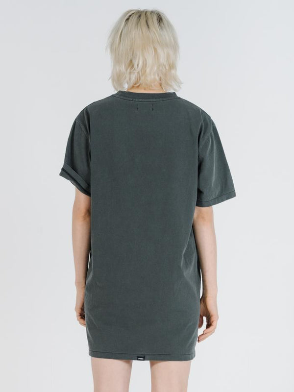 Talons Merch Tee Dress - Merch Black