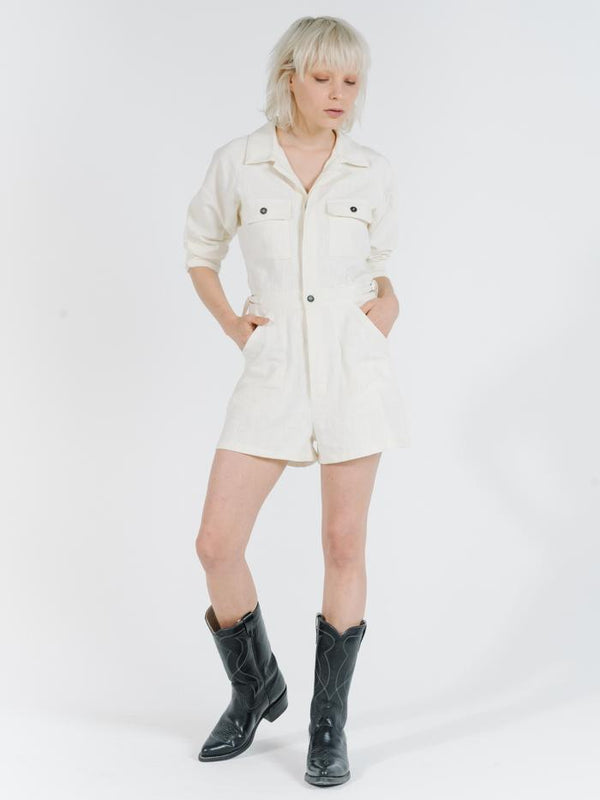 Utility Short Leg Coverall - Natural