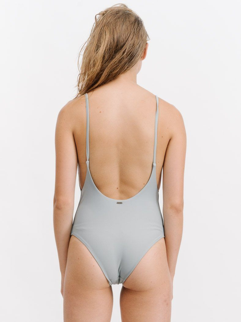 High Cut One Piece - Pale Agave