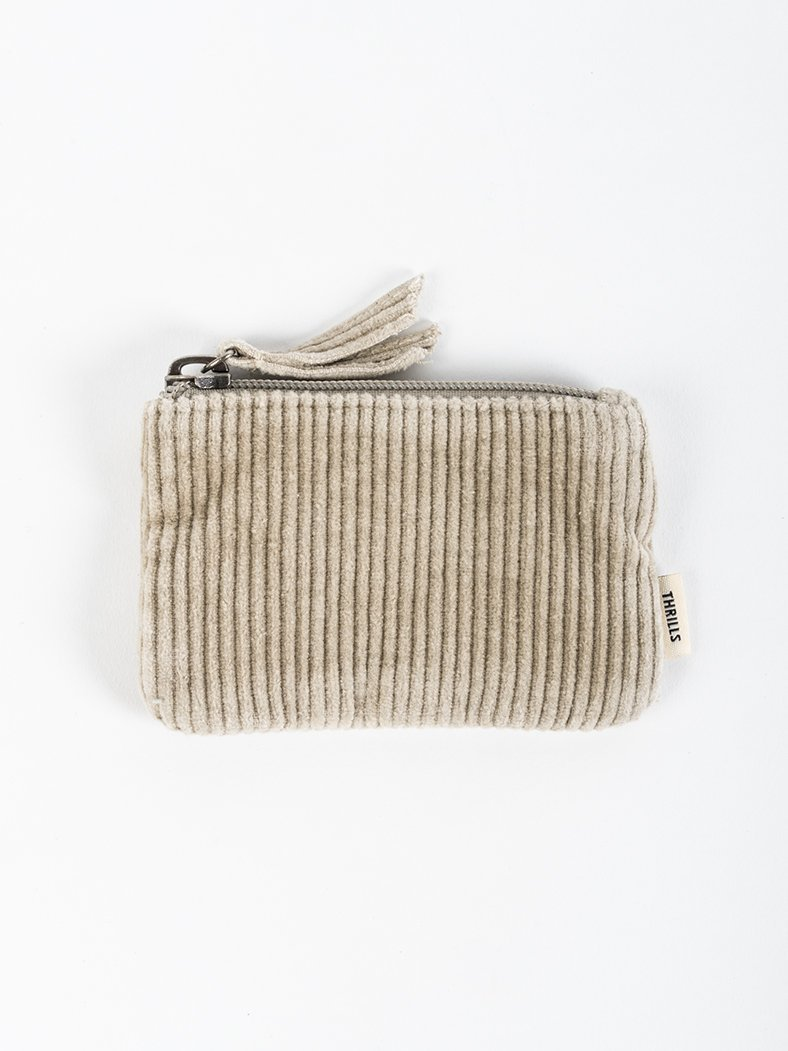 Cord Coin Pouch - Dusty Sage