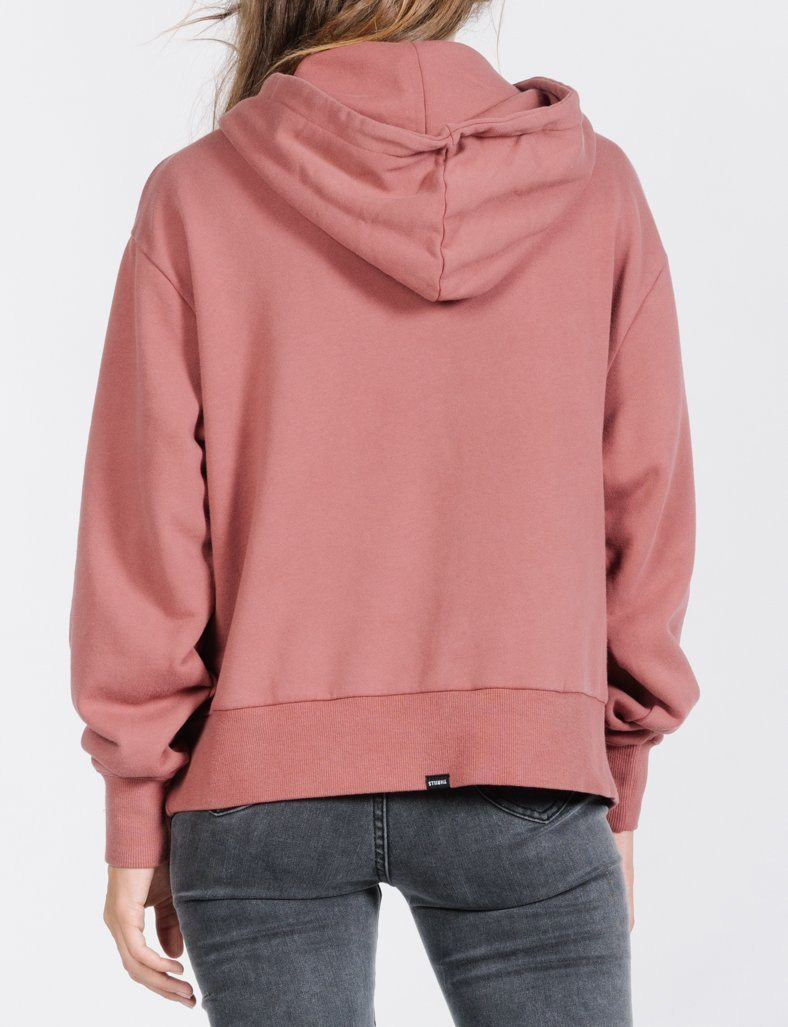 Tonal Service Hoodie - Faded Red
