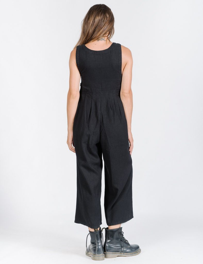 Kirby Jumpsuit  - Washed Black