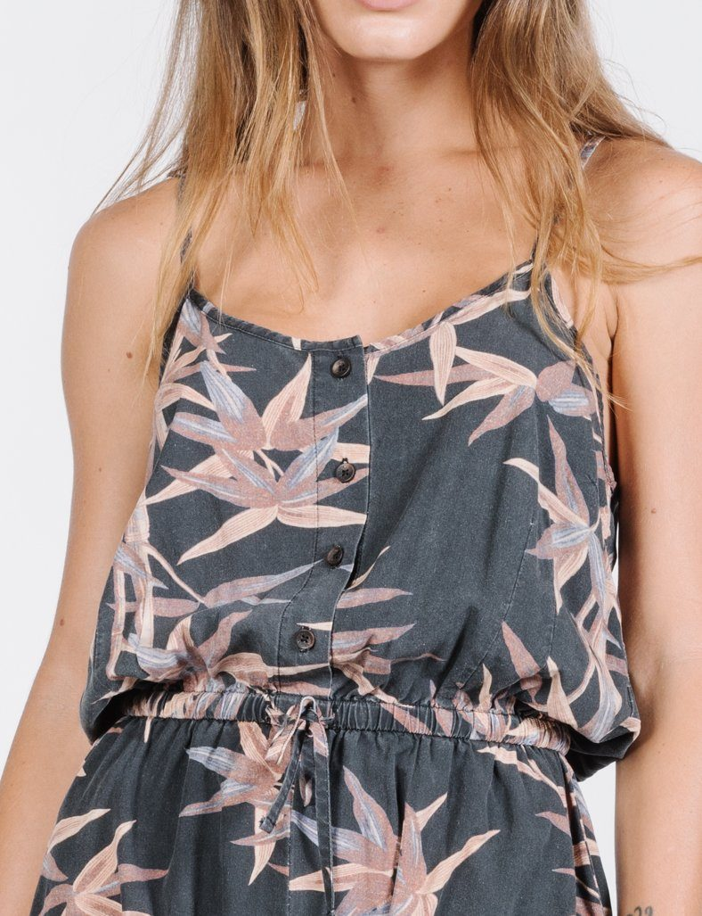 Paradise Lost Playsuit - Black